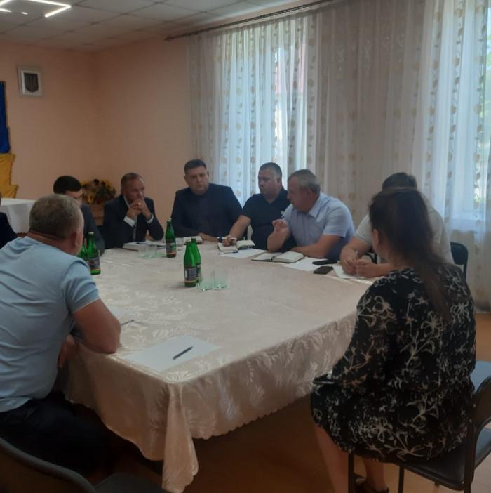 В Кольчинській громаді керівники району провели прийом громадян