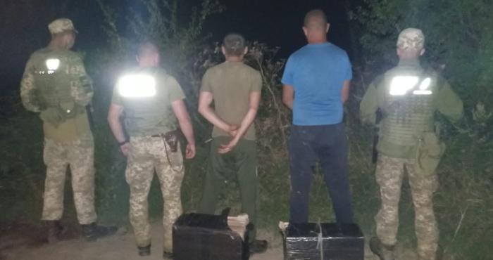 Дві спроби тютюнової контрабанди припинили прикордонники Мукачівського загону