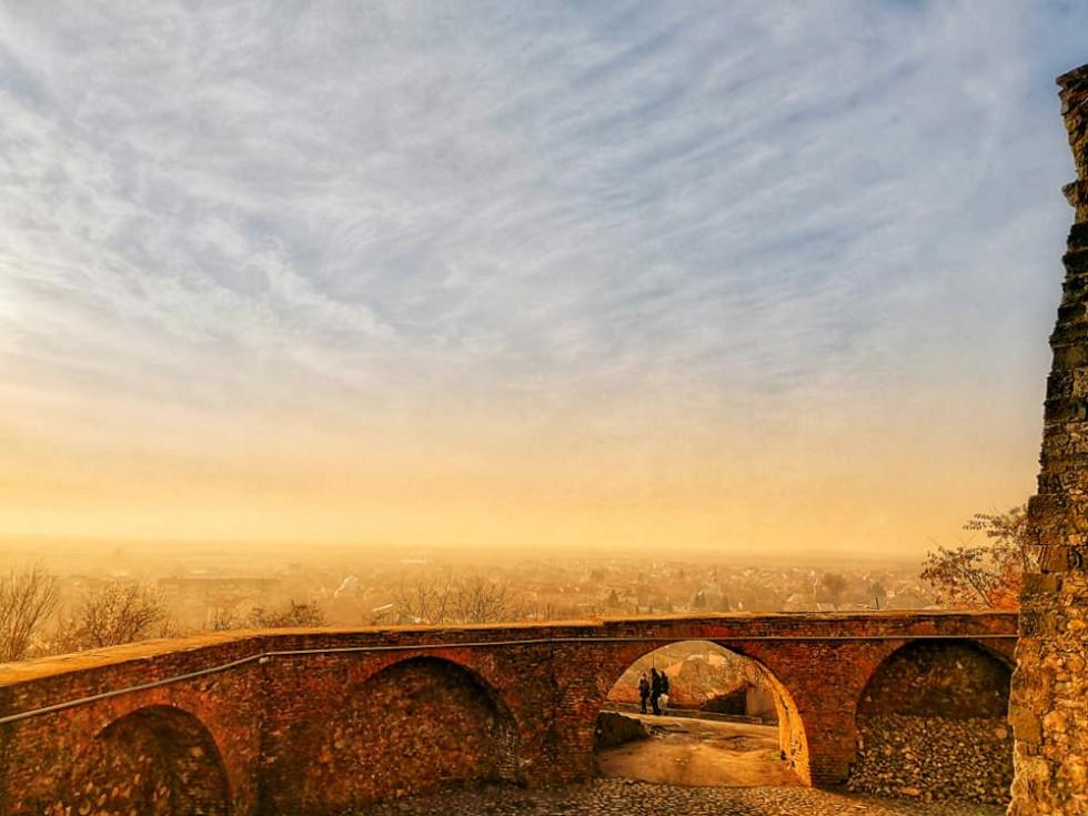 вид із Мукачівського замку