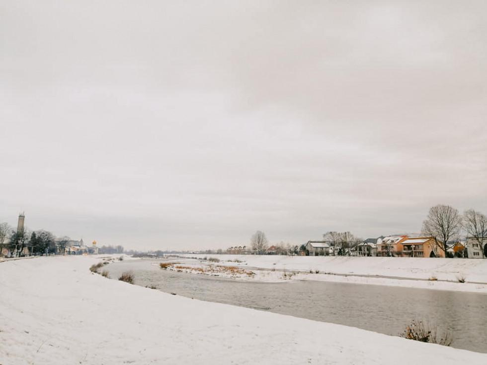 Зима р. Латориця