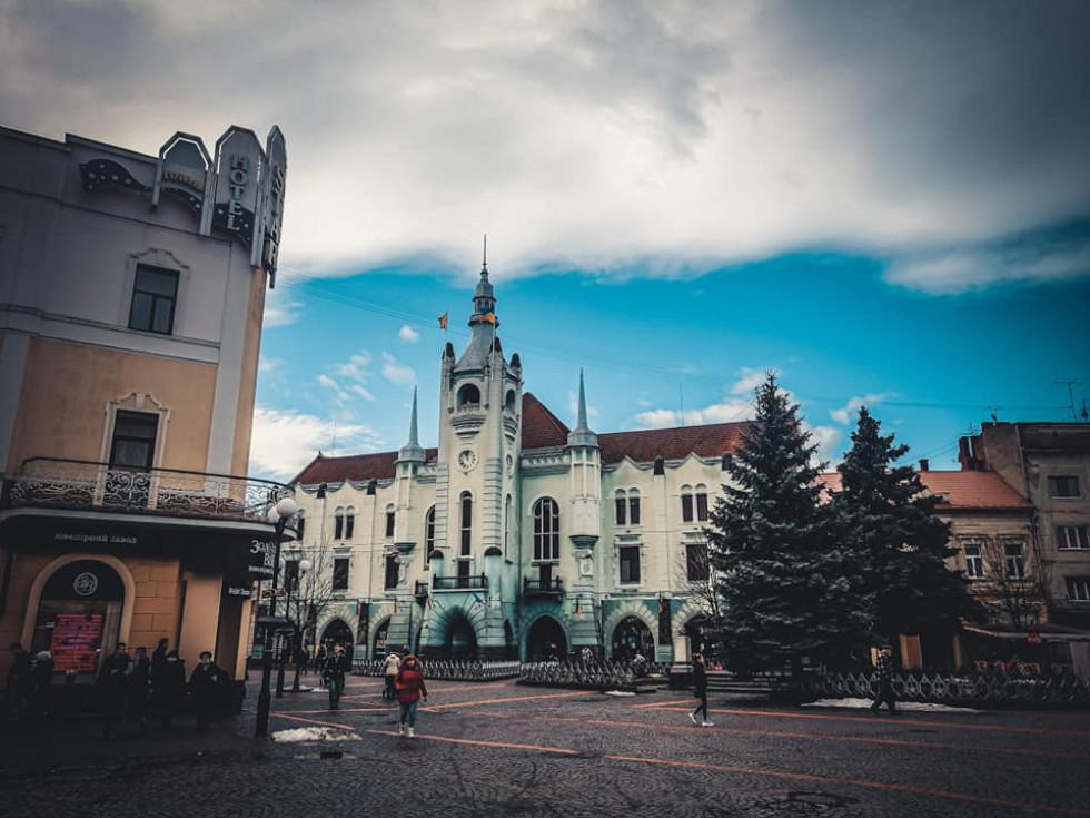 ратуша Мукачево