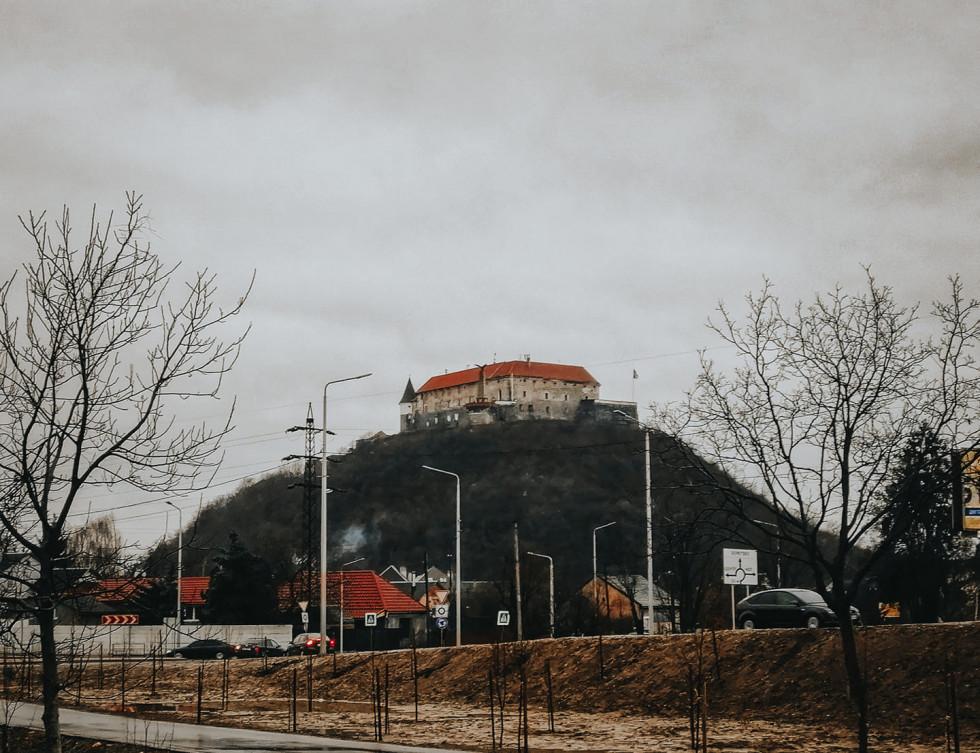 Замок Мукачево
