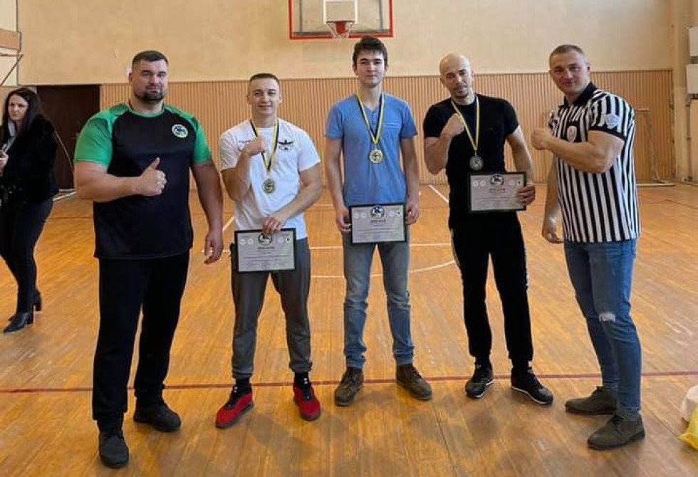 чемпіонат Закарпатської області з армспорту