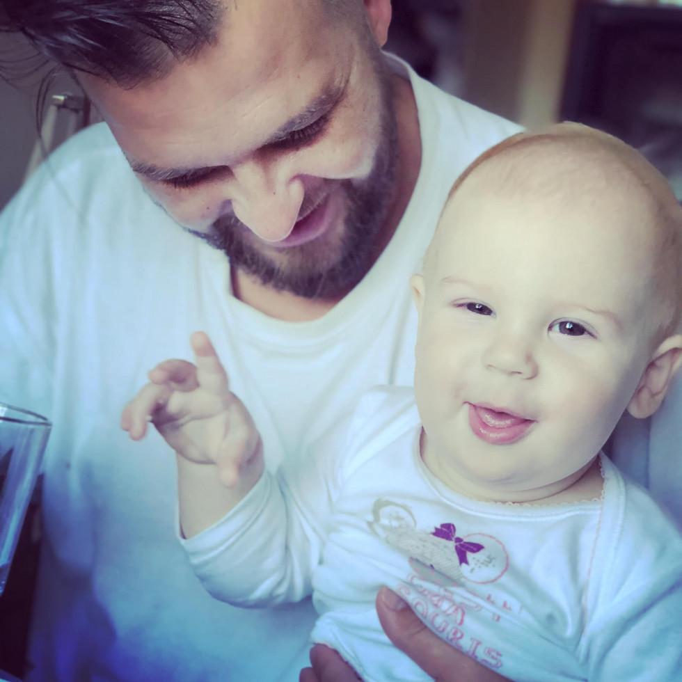 Сергій з сином Лук'яном